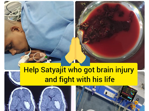 Help My Son Satyajit Samal, Struggling His Life After Head Injury