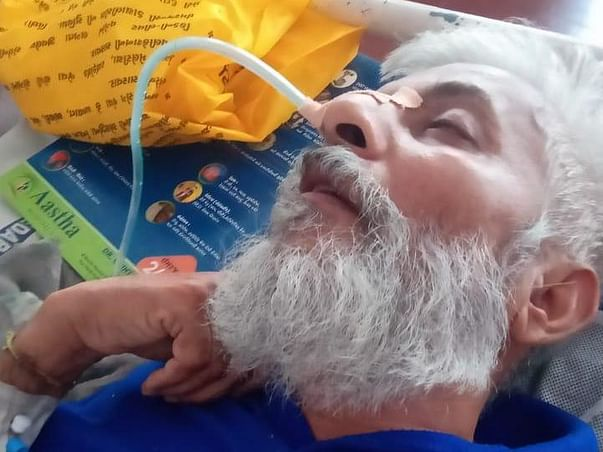 My Father Is Struggling With Brain Hemorrhage & Paralysis, Help Him.