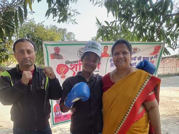 Help rural girls stand for Boxing