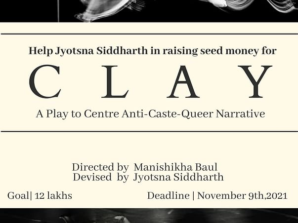 Help Jyotsna Siddharth in fundraising Seed Money for CLAY