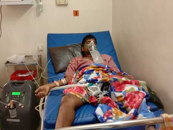 Support My Uncle Yudhistir Sahoo To Recover From Covid