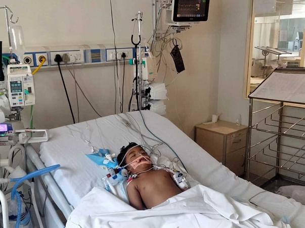 1 Year Old Aayan Okheda Needs Your Help To Recover From Pneumonia