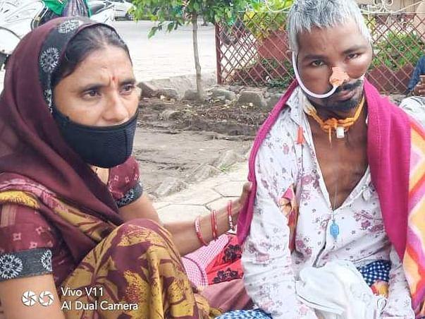 Help Rajkumar To Fight Mouth Cancer