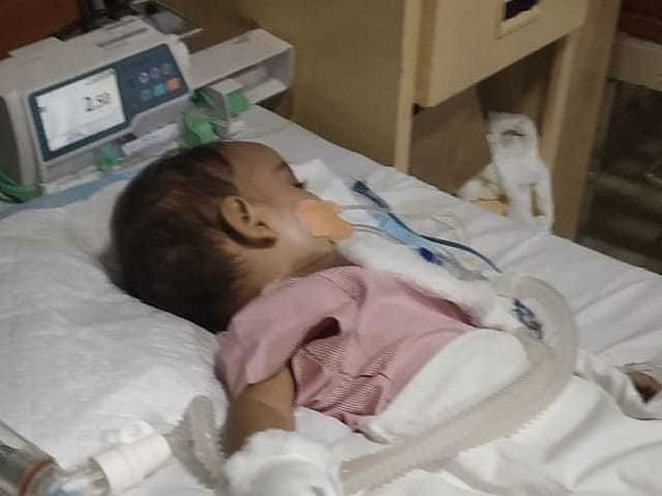 Help 1Y Old Ridhan Ketan Recover From High Infarction In The Lungs