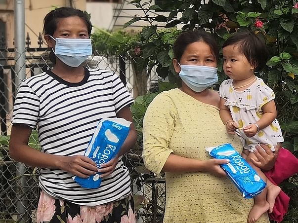 Help girls from remote Manipuri villages become period-ready!