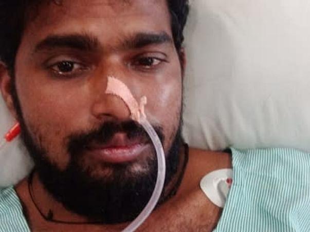Help My Friend Eshwar Subhash Kadam Recover  Covid -19 Complication