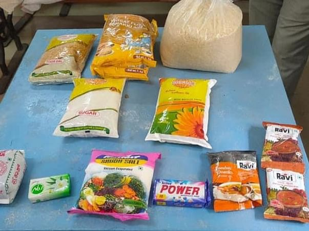 Feeding Food For Poor And Unemployed