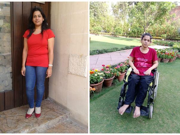 Support Sudeshna Recover From Transverse Myelitis