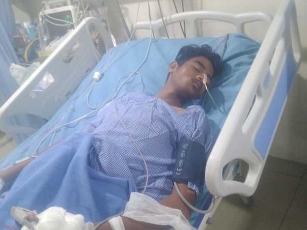 Please Help Vinod To Recover From Accidental Injury