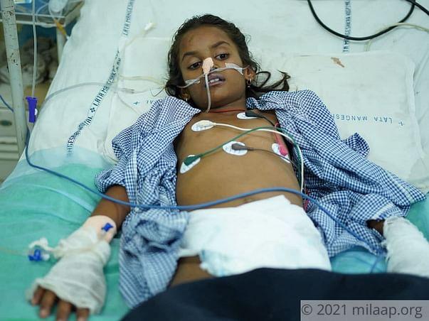 My daughter is on verge of multiple organ failure. Help her..