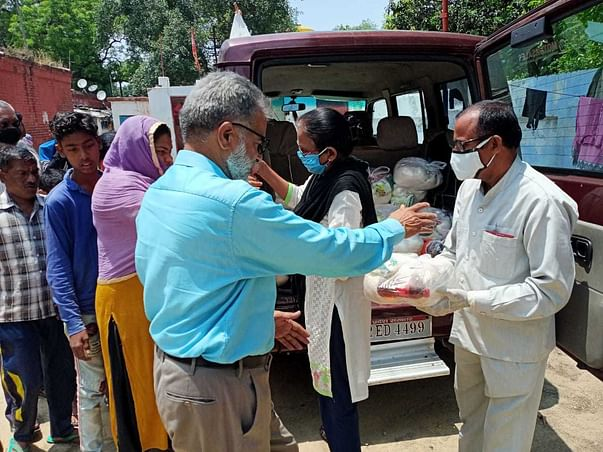 Join Our Hands To Raise Fund For Covid-19 Relief Work-help Us To Help