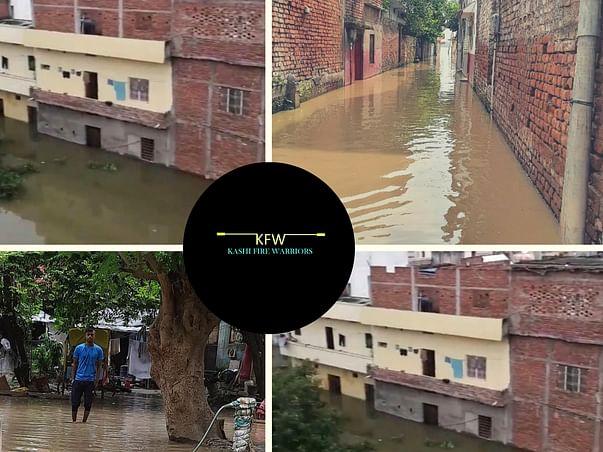 Disaster Relief Fund for Flood Victims of Nagwa, Varanasi