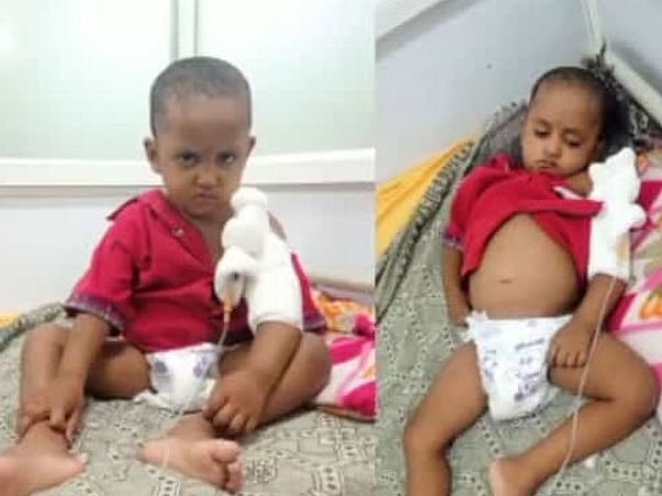 Help 5 Yrs/O Sadanand Recover From Blood Cancer