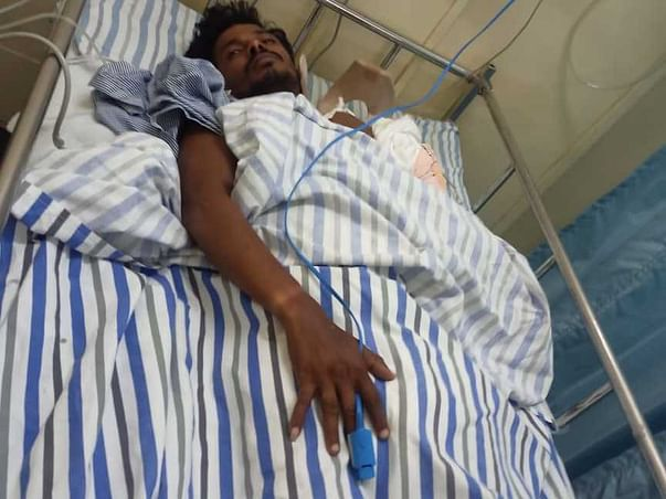 Support Santhosh Recover From Accidental Injuries