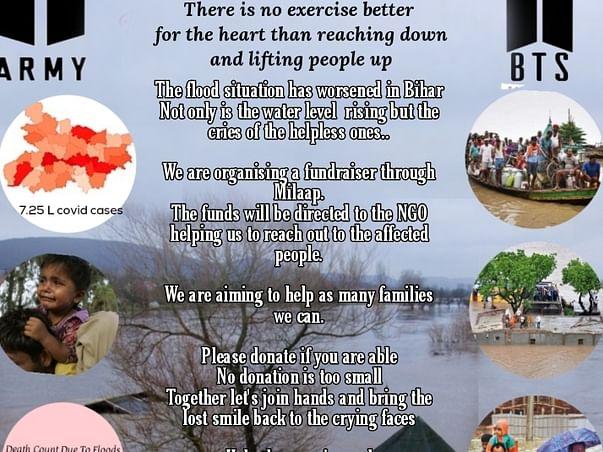 Fundraiser For Bihar Flood Victims 2021