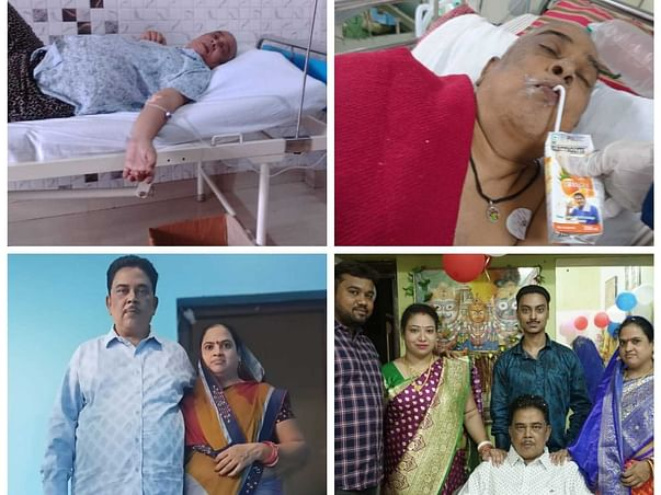 53 Years Old Sapan Mohapatra Needs Your Help Fight Liver Cirrhosis