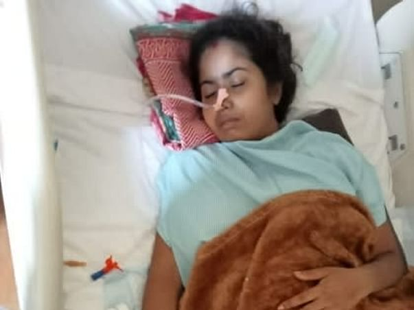 Support Sonali Patra Recover From Spinal Tumor