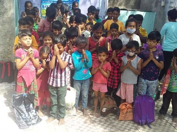 Support education of Slum children in Rajkot - by Devarsh Uchat