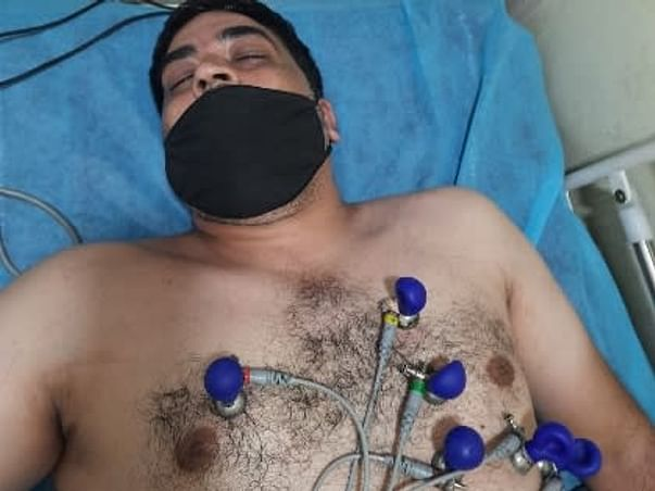 Support Syed Zubair Mehdi 38 yrs/O For Angioplasty