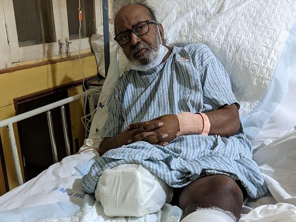 My Father's R.Leg Needs Amputation, L.Leg Needs Surgery. Please Help.