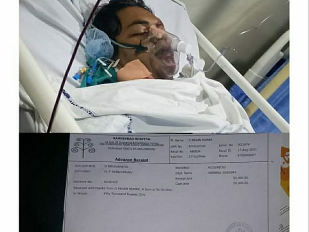 Support D Pavan Kumar Recover From Head Injury