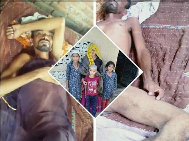 Help Hansraj's Family To Survive After His Death Due To Cancer