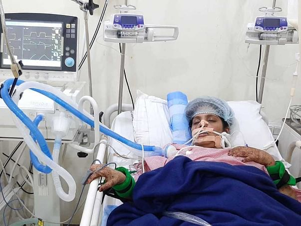 Help My Friend Fouzia To Recover From Multiple Organ Disfunction