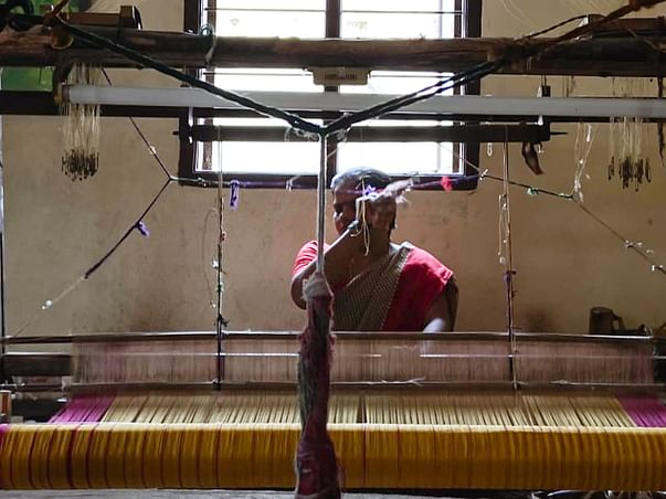 Support the Upskilling Of Women Of The Anakaputhur Weaving Community