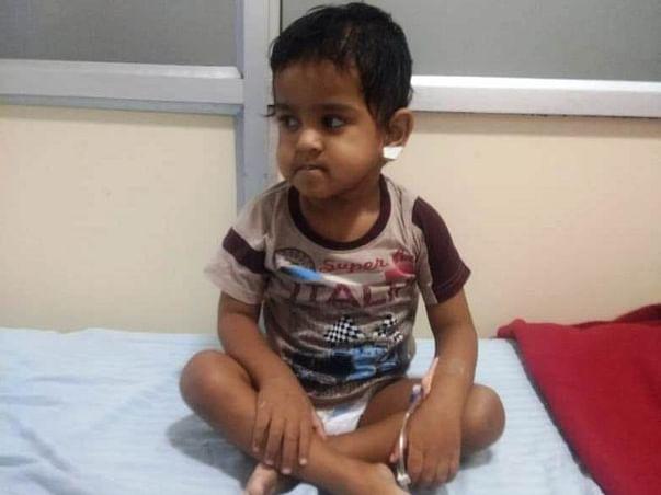 Help My Son Chokka Prabhakar Eshanth ( Baby Of Pujitha)