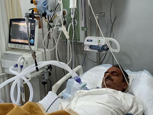 56 Years Old Rajeev Singh Tomar Needs Your Help Fight Brain Hemorrhage