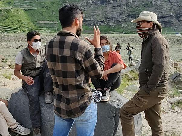 Clean-Up at 10250 Ft. (Sissu Village, Himachal Pradesh)