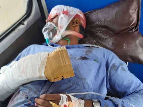 Help Nithish to Recover From Major Injury in Accident