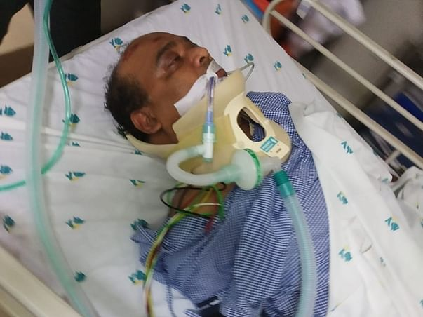 Help My Friend Suresh Chandra To Recover From Accidental Injuries