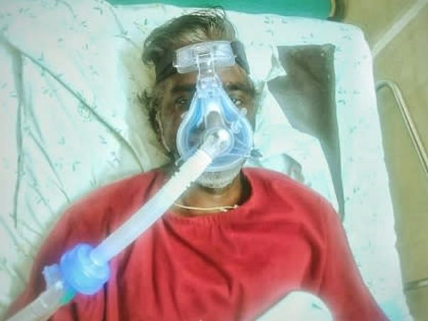 Help Murugesh Recover From Covid-19