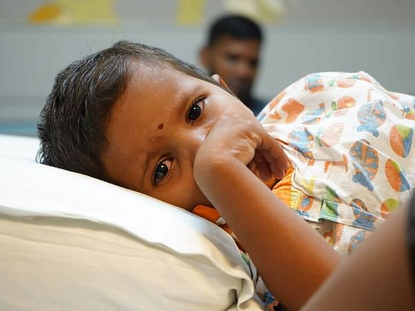Support S Yamini Sree Recover From Blood Clot In Heart