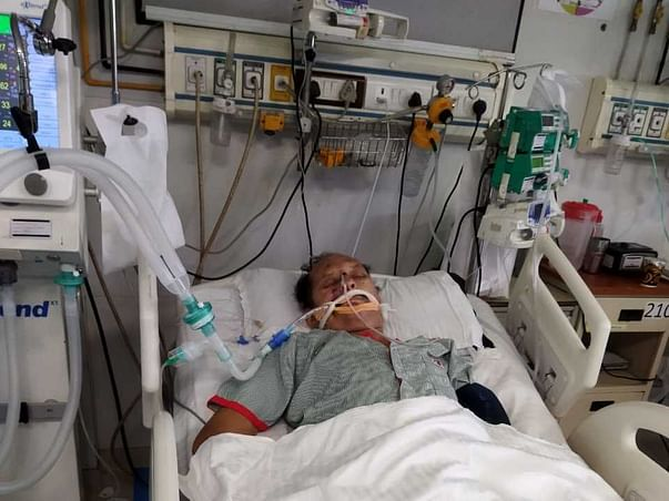 This 65 Years Needs Your Support In Recovering Severe Lung Infection