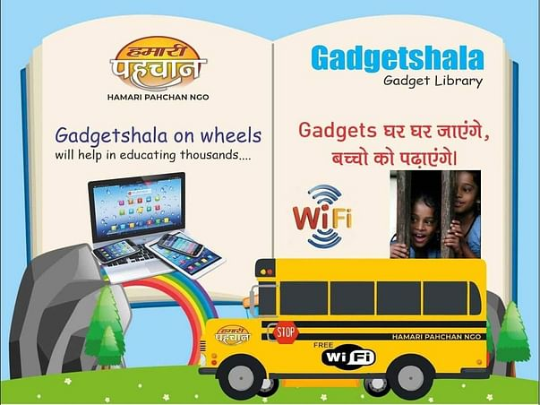 Enabling Virtual Education For Every Child Residing In Slum Areas