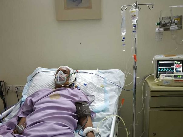 Support My Wife Deepa Recover From Brain Hemorrhage Surgery
