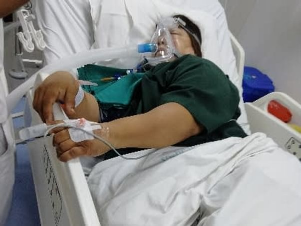 Support My Mother To Recover From Lungs Infection