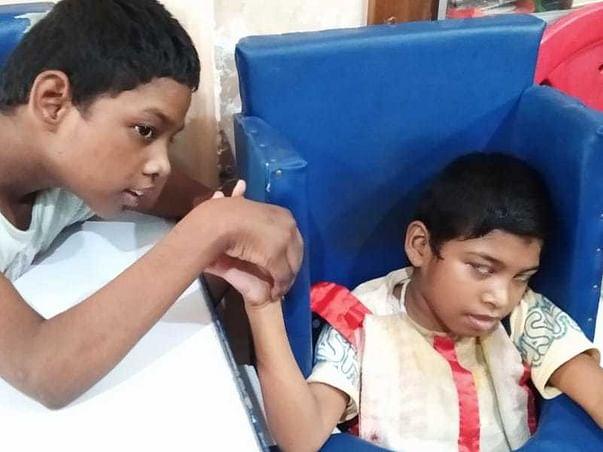 Please help Ashabari, a child with CP, Quadriplegia & Microcephaly