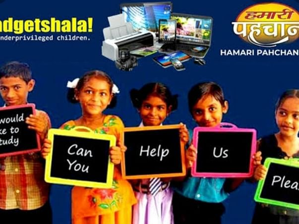 Education Is right of all and we serve for it though gadgetshala