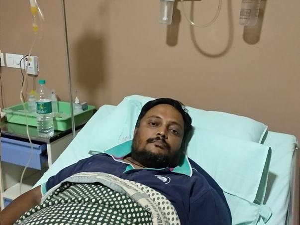 Help My Husband, Karthick V Raghunath 37 Yrs/O Recover Blood Cancer