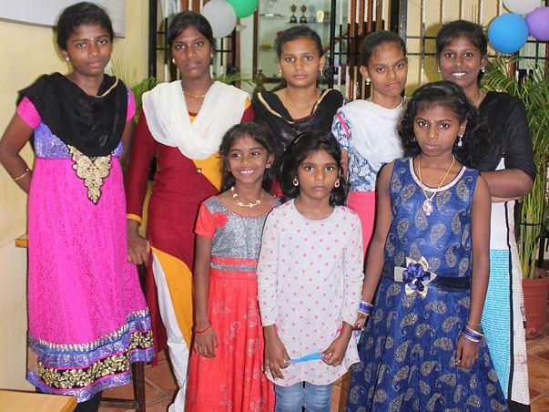 Support abandoned girl children at Janani Home, Puducherry