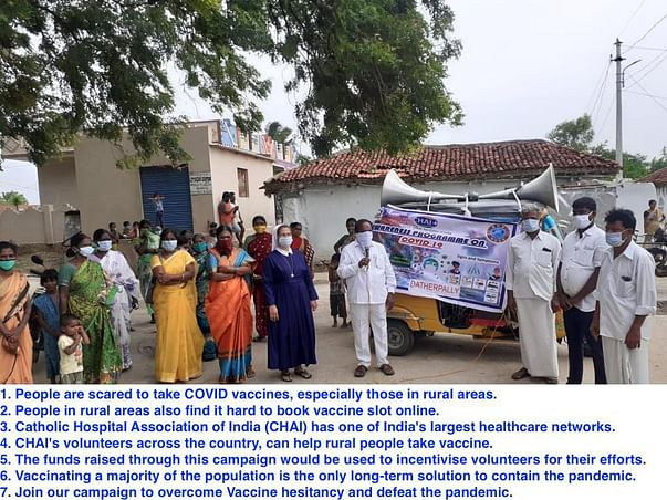 Help Rural India Get Vaccinated