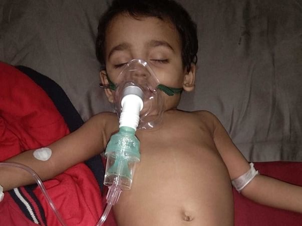 Help Baby Azaan Recover From Hypophosphatemia and Pneumonitis