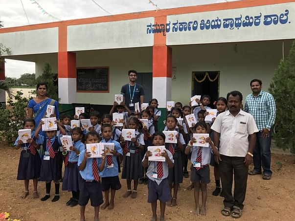 Help Gadag Govt. School Kids with Books and Bags
