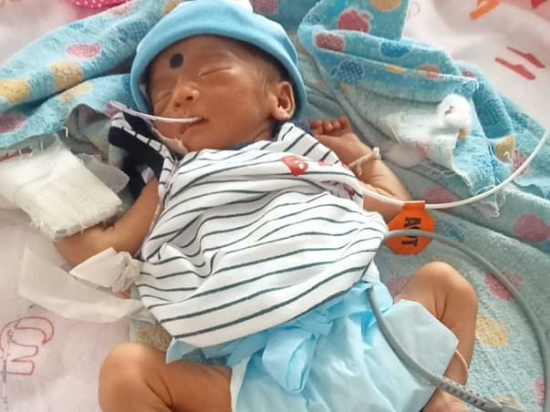 Support Nang Sanghamitta To Recover From Premature Birth