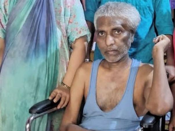 Help My Father For Brain Hamrage & Paralysis
