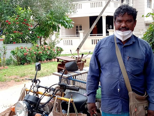 Help Somanna, A Vegetable Seller Pay For His Sons Education