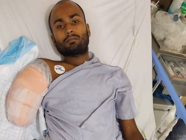 Support Arjun Sahani Recover From Accidental Injury